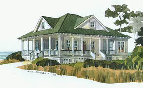 Homebuilding for Inlet retreat house plan